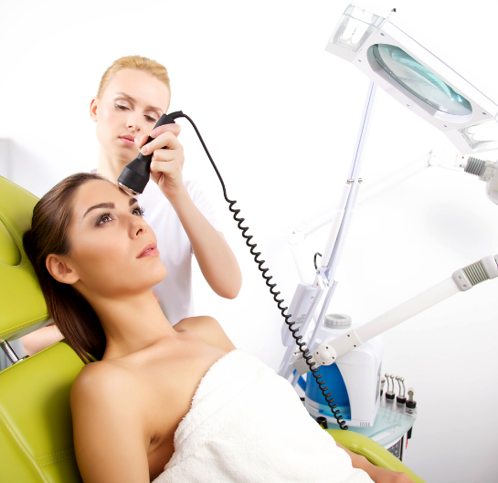 Pulsed Dye Laser Treatment and Roscea